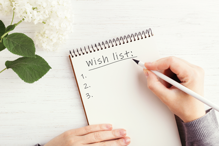 How to create your homebuying wish list